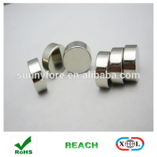 nickle coating round magnets for fabric